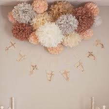 Tissue Paper Pom Poms Flower Balls Us 3 67 25 Off 10pcs 10