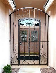 front door gate. Door Gates Unusual Design Ideas Iron For Front Doors Gate Delightful Wrought Part At G