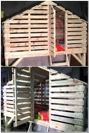 Wondrous Pallet Bunk Beds 88 Pallet Loft Bed Plans Ideas For Wood