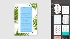 Design Merge Creating Menus With Design Merge In Easil