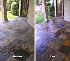 outdoor tile cleaning and patio tile sealing