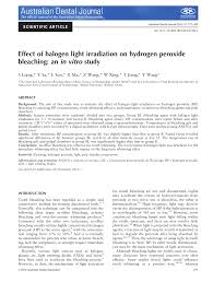 In Vitro Efficacy And Adverse Effects Of Light Assisted Tooth