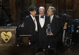 Entertainment News 8 Feb 2015 15 Minute News Know the News Grammys 2015 Transcript of Bob Dylan was honored by MusiCares the charity organization.