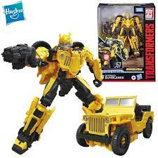 Hasbro Transformers Bumblebee Film Studio Serie 57 Deluxe Klasse Film  Willys Jeep Bumblebee Action Figur Modell Spielzeug E8288|Transformer/Robot