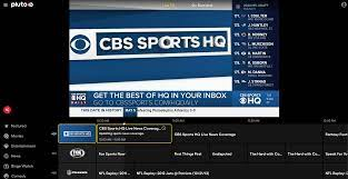 Pluto TV expands with addition of CBS Sports HQ, new deals with TiVo and  Verizon