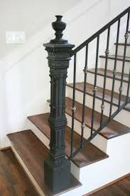 Custom Newel Post 62 Best Newel Post Images On Pinterest Newel Posts Stairs And