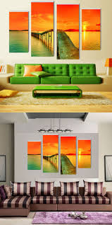 Modular pictures Caribbean Modern Home Decoration bedroom ...