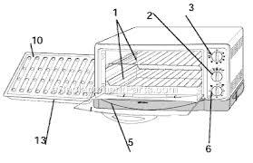 oster 6265 parts list and diagram ereplacementparts com