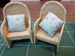 how to build miniature furniture. Drora\u0027s Minimundo: Easy Garden Chairs Tutorial - Miniatures For Fairy Or Dollhouse Instructions To Make These From Stiffened Jute And A Bit Of How Build Miniature Furniture