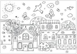 Spring Coloring Spring Coloring Pages Spring Flower Coloring Pages