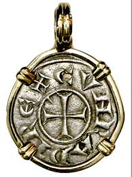 italy genoa 1093 1152ad crusader coin