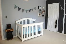 ... Cute Picture Of Black And White Baby Nursery Room Design And Decoration  Ideas : Cute Picture ...