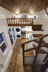 luxury tiny house. Rustic Loft -- A Luxury 273 Square Feet Tiny House On Wheels Built By Mint
