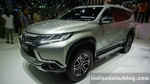 new car 2016 thaiMitsubishi Pajero Sport launch in South Africa in early 2016