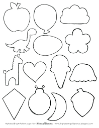 Shape Coloring Pages For Preschoolers Diamond Shape Colouring Pages