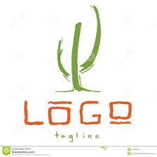 Free Cactus Logo Design Cactus Art Logo Design Stock Vector Illustration Of