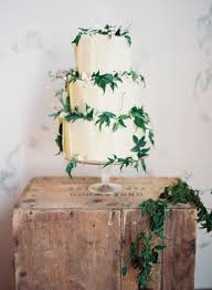 Picture Of Purely Beautiful Wedding Cakes With Greenery 7