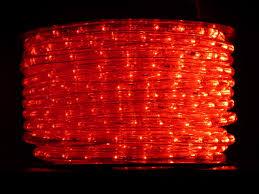 120 Volt Red Led Light 150 Foot Reel Of 120 Volt Red Led Rope Light