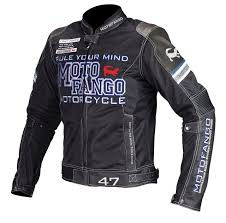 mj 001 riding leather mesh jacket spacer