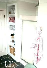 shower built in shelves bathroom wall storage bath