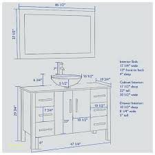 bathroom vanity height um size of stupendous standard with vessel sink idea 13