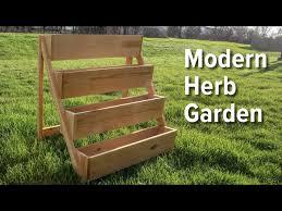 how to build a modern herb garden you