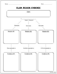 argumentative persuasive essay graphic organizer claim reasons  argumentative persuasive essay graphic organizer claim reasons evidence