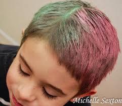 Easy Temporary Hair Dye Using Chalk