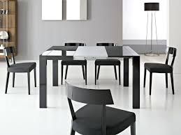 black extendable dining table black extendable dining table extending black glass dining table and 6 chairs