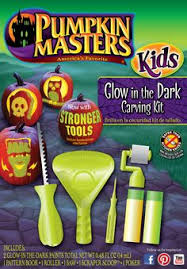 pumpkin carving tools for kids. combine pumpkin carving and glow-in-the-dark paint to get the ultimate halloween decoration with masters kids glow in dark kit. tools for i