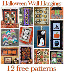 halloween | Hidden Treasure Crafts and Quilting & 12 Halloween Wall Hanging Patterns Adamdwight.com