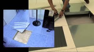 Pavimento antistatico : Ditta posa di pavimento in gomma pvc e linoleum youtube
