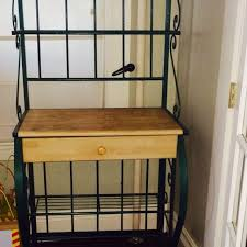 best green metal bakers rack for in portsmouth new hampshire intended plans