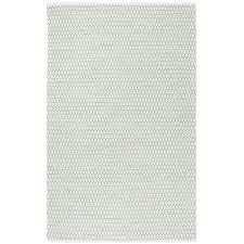 safavieh hand woven montauk light green ivory cotton rug 8 x 10