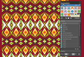 How To Create Pattern In Illustrator Beauteous Creating Ikat Patterns In Illustrator With Artlandia SymmetryWorks