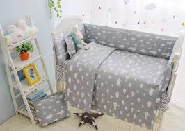 l clouds newborn baby cot bedding comfortable baby boy crib bedding set baby bed liner cot