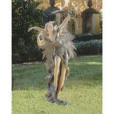 fairy garden statue archer