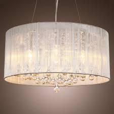 drum light chandelier dining room hanging lamp shade kit small white drum lamp shade furniture diy