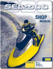 seadoo rx rx di gtx di service shop manual pdf 2000 seadoo rx rx di gtx di service shop manual