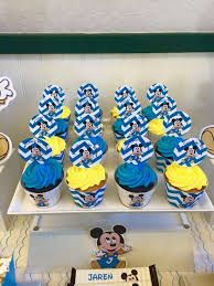 Baby Mickey Mouse Birthday Party Ideas Photo 4 Of 8 Catch My Party