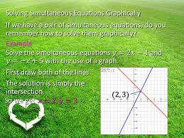 5 solving simultaneous equations