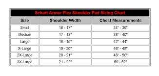 Schutt Armor Flex Sizechart Jpg