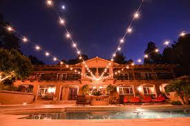 market lights string lights wedding lighting backyard wedding outdoors