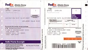 Fedex Billable Stamp South San Francisco Ca
