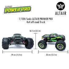 Race Car Chassis Design And Construction Powerpro Altair High Speed Remote Control Truck 48km H 30mph 1 10 Scale Large Vehicle Radio Controlled Off Road 4x4 Electric Monster Truck R C Hobby