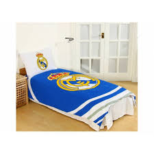 real madrid cf duvet and pillow case set utbs1187