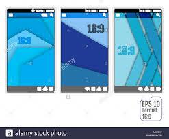Vector Image Format In Ui Design Vector Ui Layout For Mobile Smartphone App In New Design
