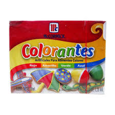 Colorante Artificial Mccormick Para Alimento Surtido 4 Colores 29