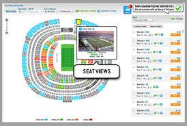 Genuine Jets Football Seating Chart Jets Stadium Seating