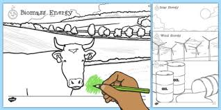 Renewable And Non Renewable Energy Coloring Sheets Renewable